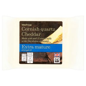 Waitrose Cornish Quartz Cheddar Extra Mature