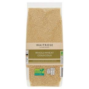 Waitrose LOVE life wholewheat couscous