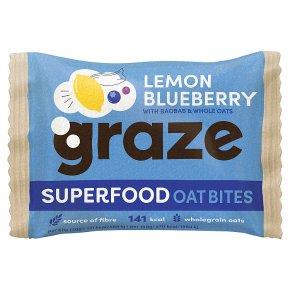 Graze Superfood Bites Blueberry & Lemon