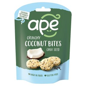 Ape Crunchy Coconut Bites with Chia
