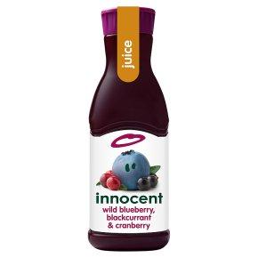 innocent dark berry juice