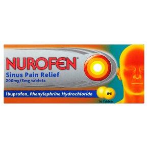 Nurofen 200mg Sinus Pain Relief