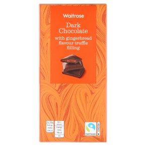 Waitrose Dark Chocolate with Gingerbread