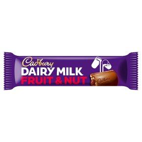 Cadbury Dairy Milk fruit & nut chocolate bar