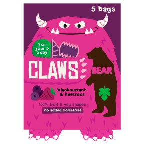 Bear Claws Blackcurrant & Beetroot
