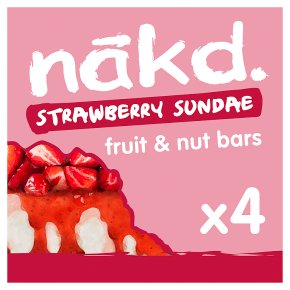 Nakd Strawberry Sundae Wholefood Bars