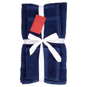 Waitrose 6 Piece Towel Bale Navy