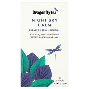 Dragonfly Tea Night Sky Calm 15s