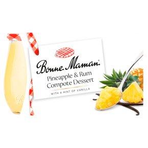 Bonne Maman Pineapple & Rum Compote Dessert