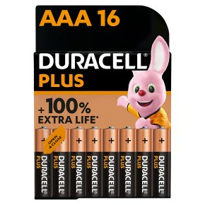 Duracell Plus AAA Economy Pack