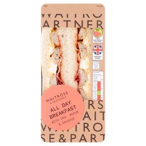 Waitrose All Day Breakfast Sandwich