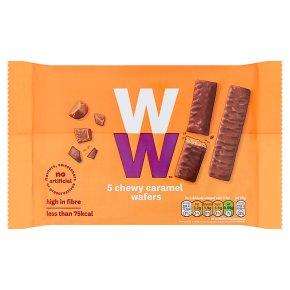 WeightWatchers caramel wafers