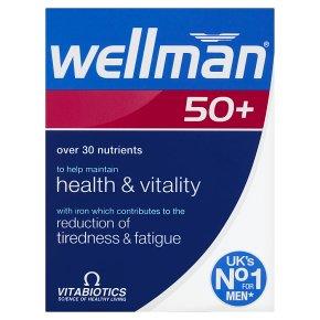Wellman 50+ Tablets