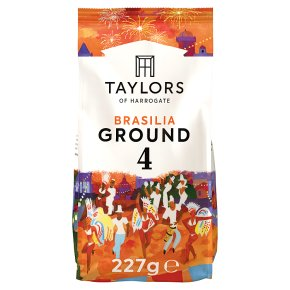 Taylors café Brasilia rich roast coffee