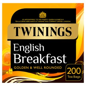 Twinings English breakfast 200 tea bags