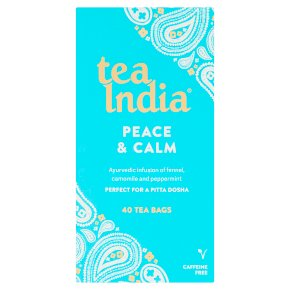 Tea India Peace & Calm 40 Tea Bags