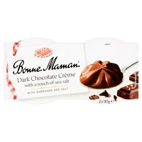 Bonne Maman Dark Chocolate Crème with Sea Salt