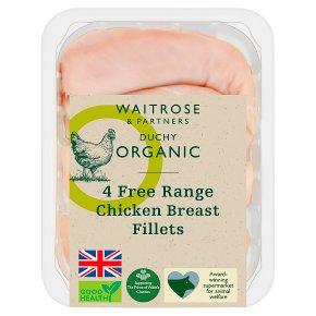 Duchy 4 Free Range British Breast Fillets