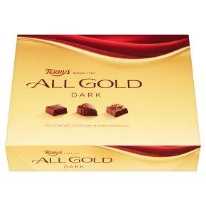 Terry's All Gold dark chocolates box