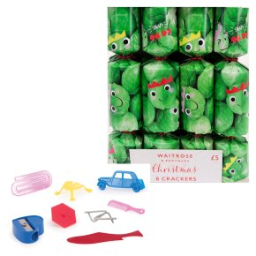 Waitrose Christmas Mini Sprout Crackers