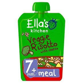 Ella's Kitchen Veggie Risotto