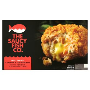 The Saucy Fish Co. 2 Salmon & Cod Fishcakes