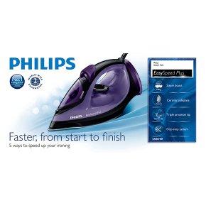 Philips Easy Speed Steam Iron GC204