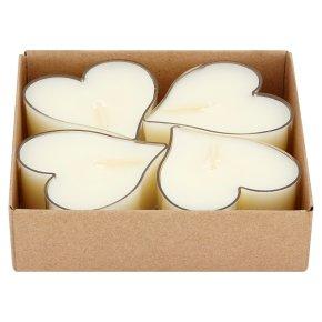 Waitrose Heart Tealights