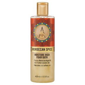 Argan+ Moroccan Spice Foam Bath