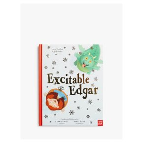Excitable Edgar Christmas Book