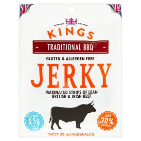 Kings Beef Jerky BBQ Flavour