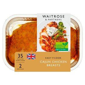 Waitrose Easy To Cook cajun chicken breasts