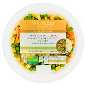Waitrose mixed vegetable layers