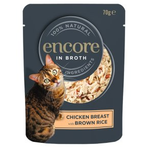 Encore 75% choice meat chicken & brown rice
