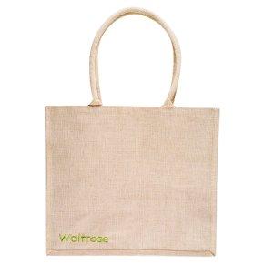 Waitrose juco shopping bag