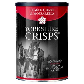 Yorkshire Crisps - tomato, basil & mozarella