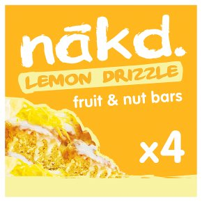 Nakd Lemon Drizzle Wholefood Bars