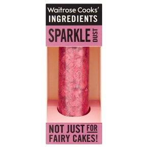 Waitrose Cooks' Homebaking red sparkle dust