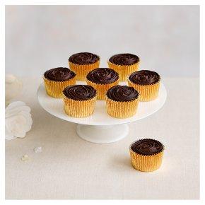 8 Chocolate Heaven Dark Chocolate Cupcakes