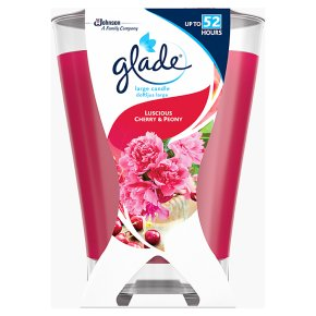 Glade Large Candle Cherry & Peony