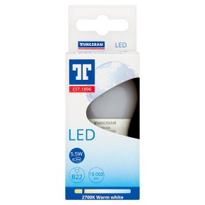 GE LED B22 5.5w