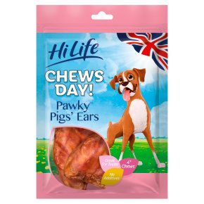 HiLife Chews Day! Pawky Pigs' Ears