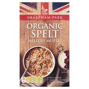 Sharpham Park spelt millers muesli