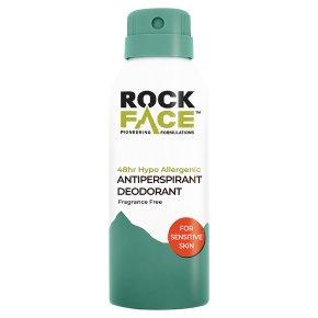 Rock Face Sensitive Antiperspirant