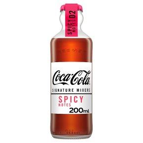 Coca-Cola Signature Mixers Spicy Notes