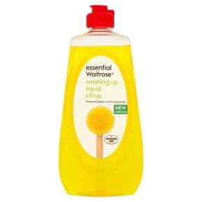Essential Waitrose citrus washing up liquid