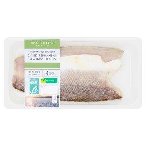 Waitrose 2 Sea Bass Fillets