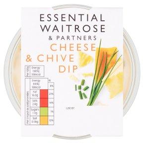 essential Waitrose cheese & chive dip