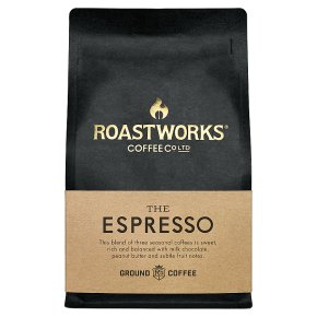 Roastworks The Espresso Ground Coffee