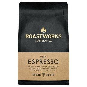Roastworks The Espresso Ground Coffee